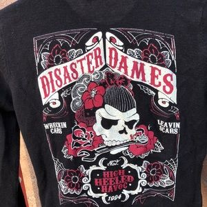 Rock Steady Disaster Dames Sweater 1994 Pin Ups